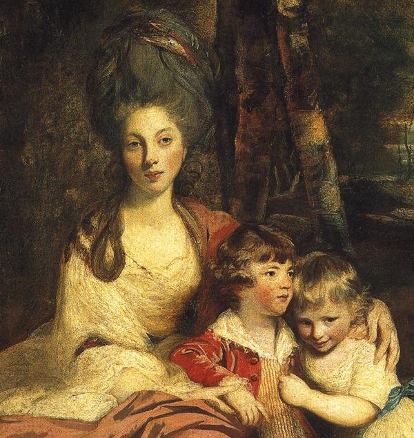 Oil painting:Lady Elizabeth Delm