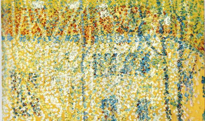 Oil painting:Landscape. 1906