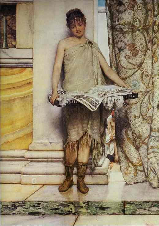Oil painting:Balneatix. 1876