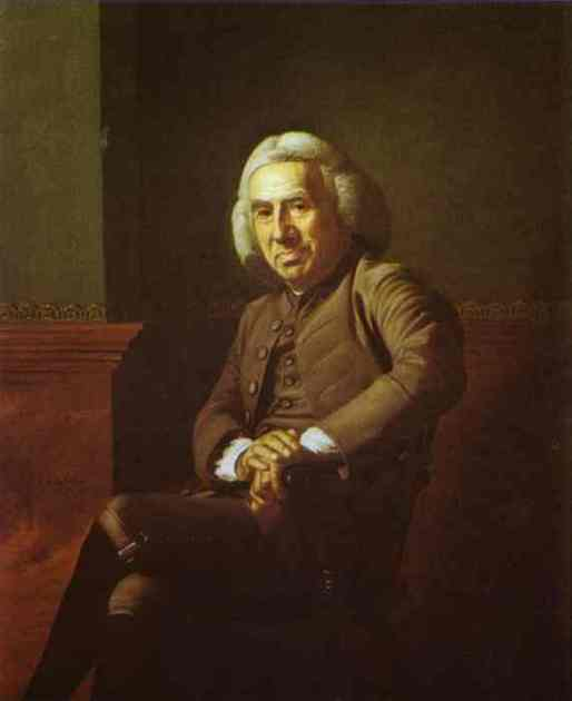 Oil painting:Eleazer Tyng. 1772