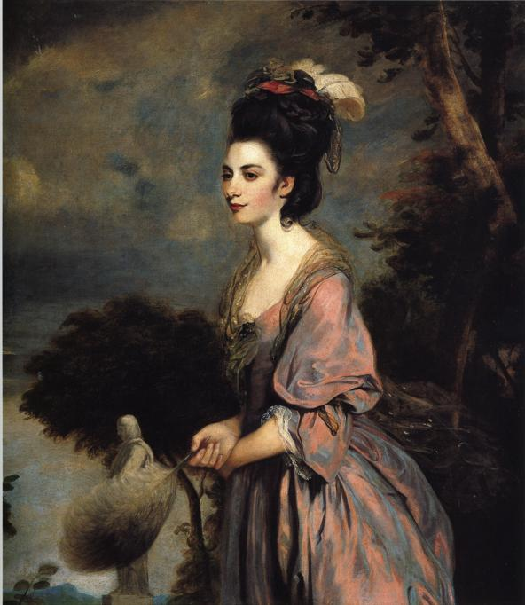 Oil painting:Mrs Richard Crofts. 1775