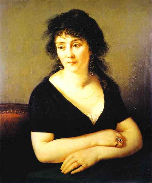 Oil painting:Portrait of Mme Bruy