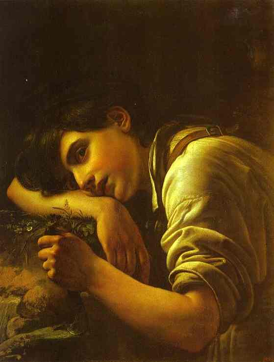 oil paintingyoung gardener 1817