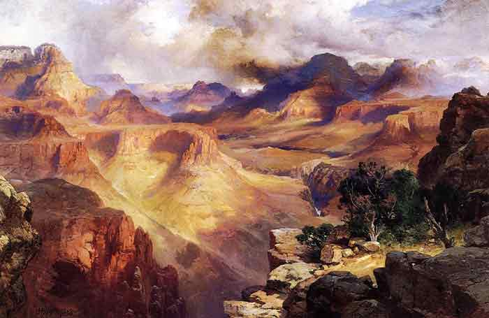 Oil painting for sale:Grand Canyon, 1908