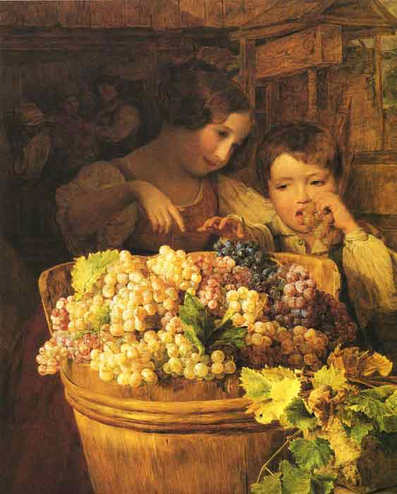 Oil painting for sale:Kinder im Prebhaus, 1834