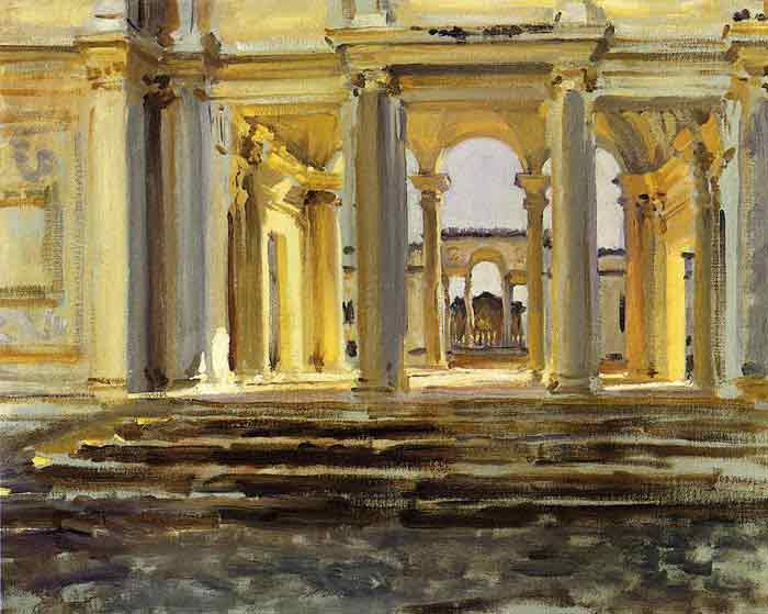 Oil painting for sale:Villa Papa Giulla , 1902