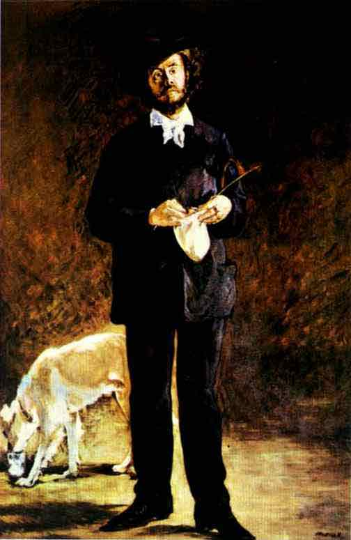 Portrait of Gilbert-Marcellin Desboutin. 1875