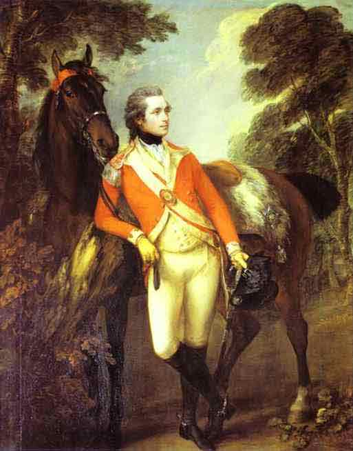Portrait of John Hayes St Leger. 1782