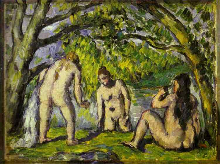 The Bathers. Oil on canvas. Barnes Foundation, Linc