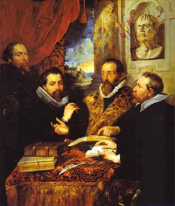 The Four Philosophers. 1611