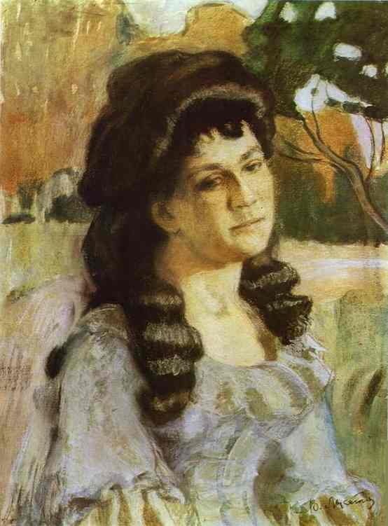 Oil painting:Portrait of a Lady. 1902