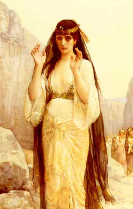Oil painting for sale:The Daughter Of Jephthah, 1879