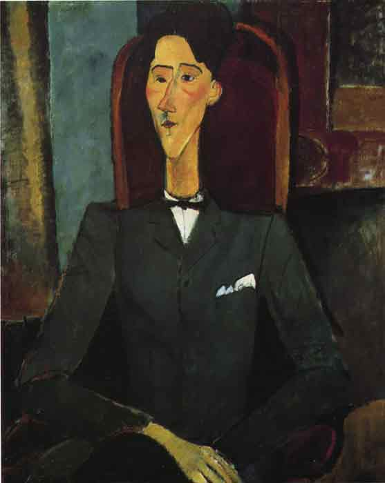 Oil painting for sale:Portrait of Jean Cocteau, 1916