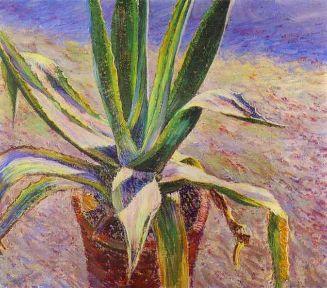 Oil painting:Agave. 1897