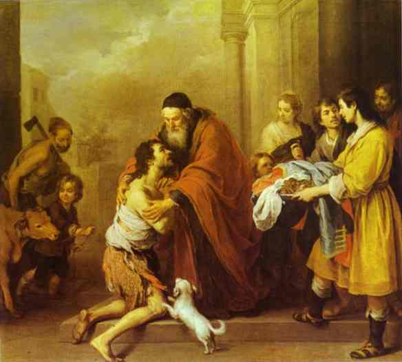 a comparison of oedipus at colonus and the prodigal son in terms of the ideas of forgiveness and red