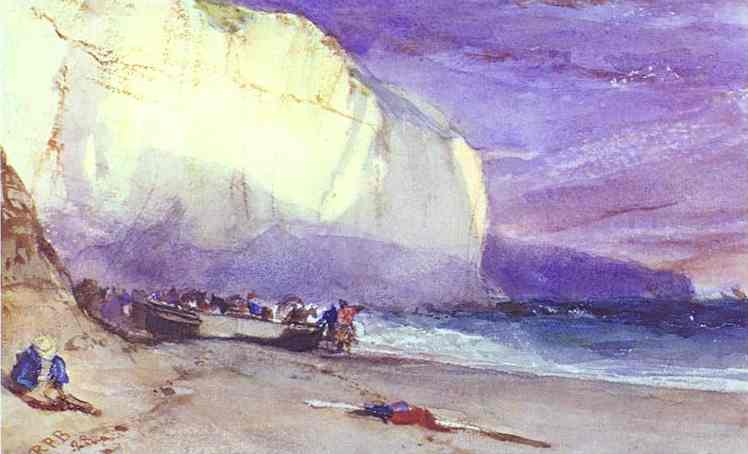 Oil painting:The Undercliff. 1828