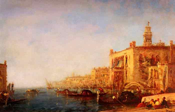 Oil painting for sale:Venise, Le Grand Canal [Venice, the Grand Canal]