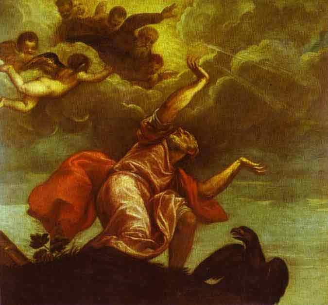 St. John the Evangelist on Patmos. 1544