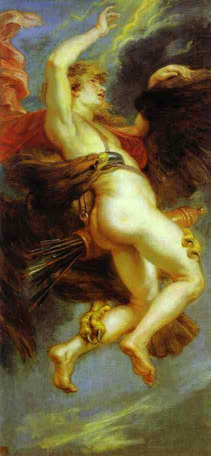 The Abduction of Ganymede.