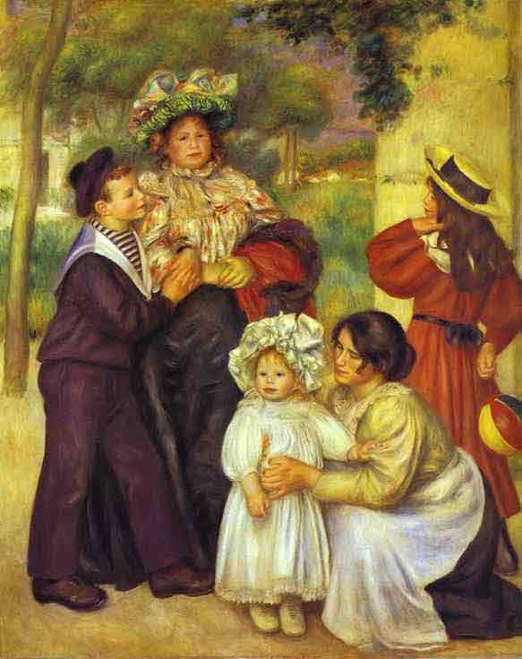 The Family of the Artist. 1896
