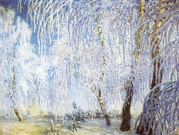 Oil painting:Frost. 1905