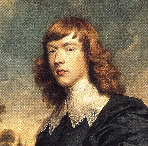 Oil painting:George John Spencer, 2nd Earl Spencer. Detail. 1774