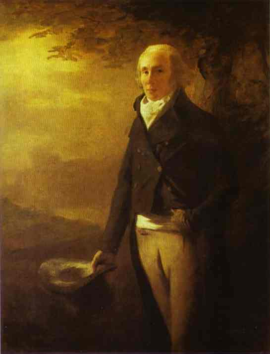Oil painting:Portrait of David Anderson. c.1790