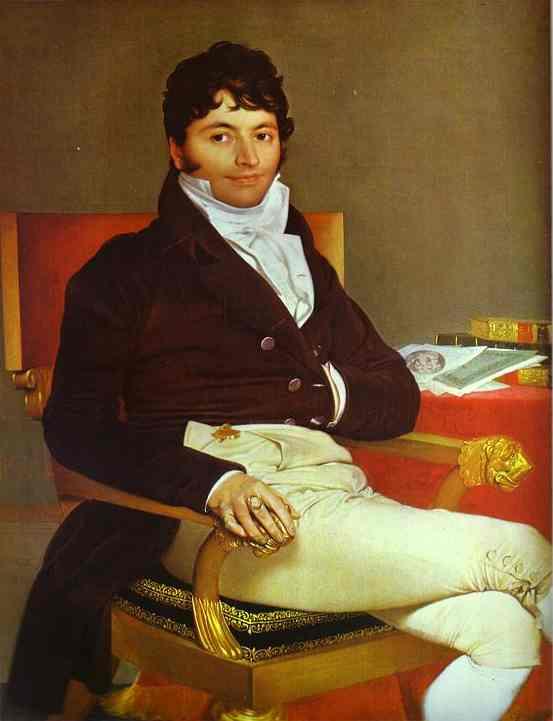 Oil painting:Portrait of Monsieur Rivi