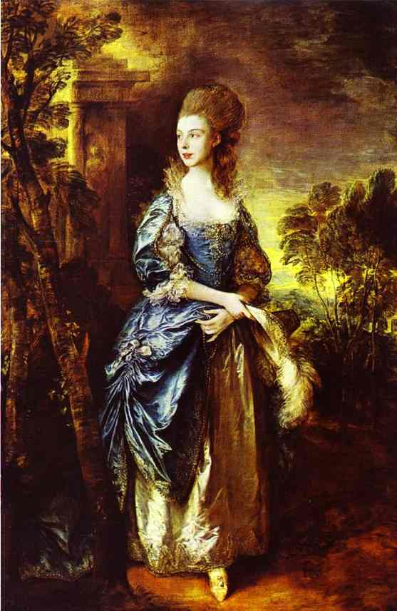Oil painting:The Hon. Frances Duncombe. About 1778