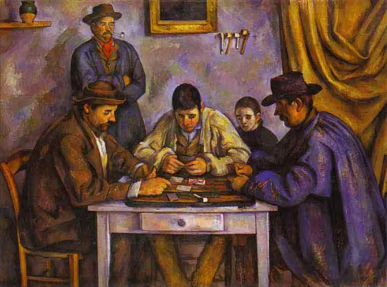 Card Players. 1890