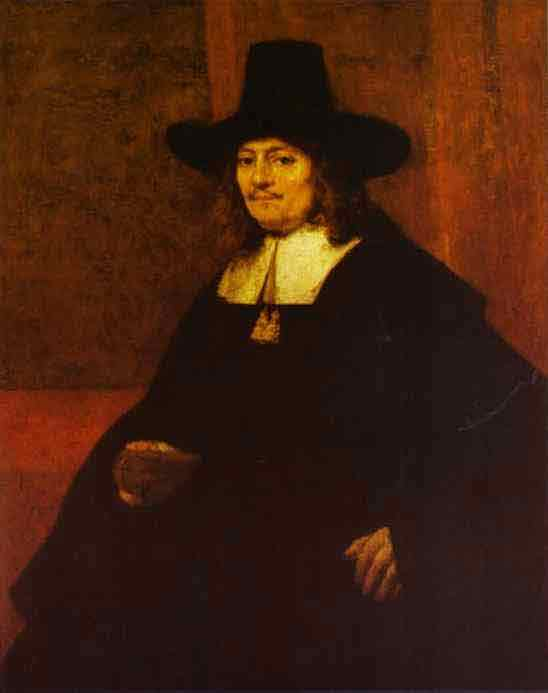 Portrait of a Man in a Tall Hat. c. 1662