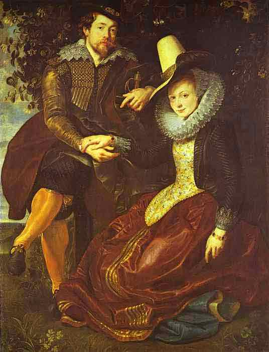Rubens and Isabella Brant in the Bower of Honeysuckle. c.1609