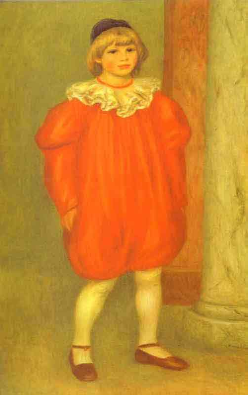The Clown (Claude Renoir). 1909