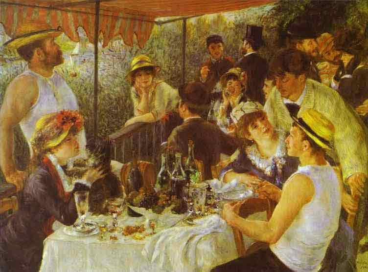 The Luncheon of the Boating Party. 1881