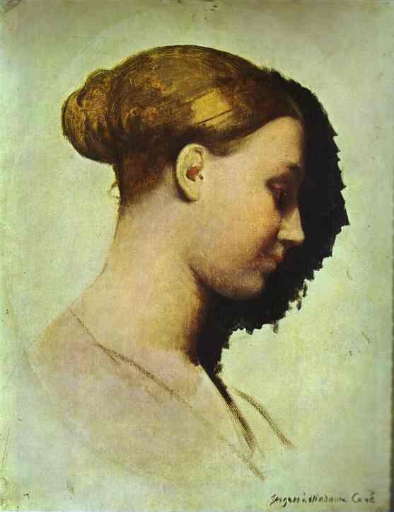 Oil painting:Portrait of Madame Cav