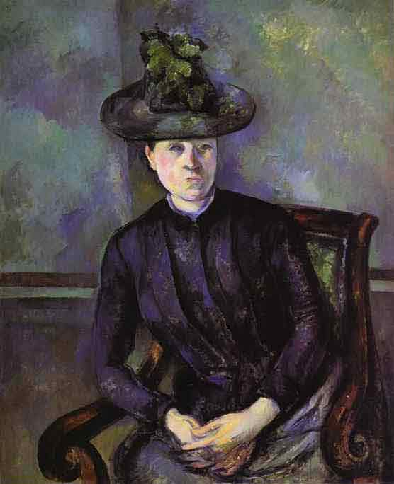 Portrait of a Woman in Green Hat (Mme C
