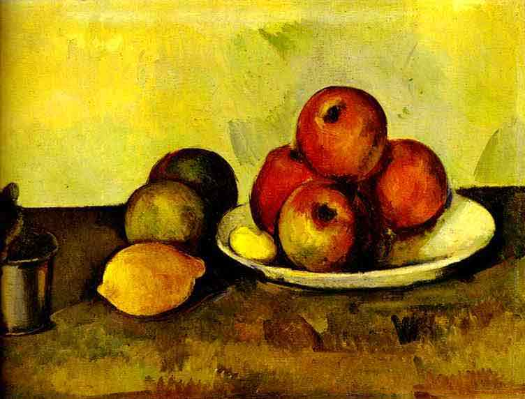 Still-Life with Apples (Nature morte. Les Pommes). c. 1890