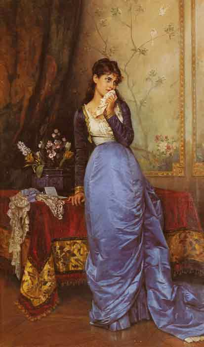 Oil painting for sale:The Letter, 1879