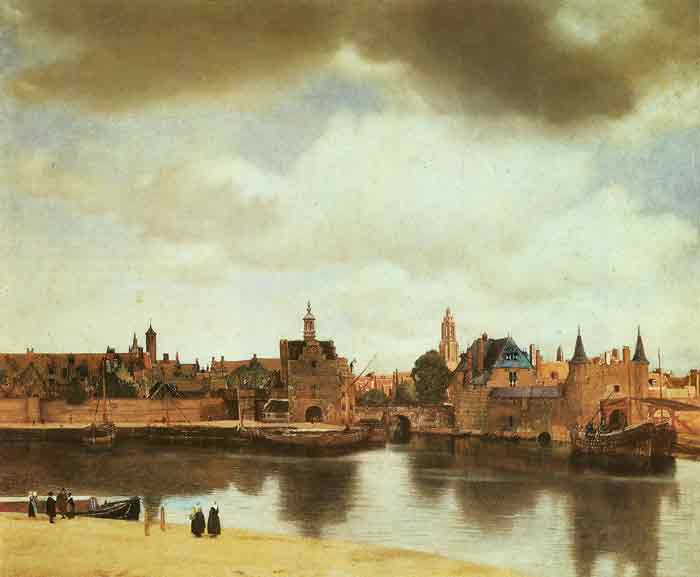 Oil painting for sale:View of Delft, 1658