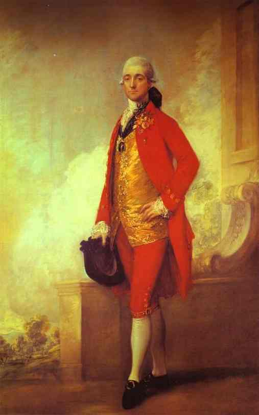 Oil painting:Captain William Wade. 1771