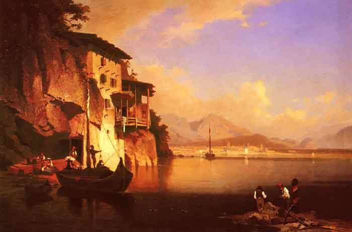 Oil painting for sale:Motio Du Lac Du Garda [Motion of the Garda Lake]