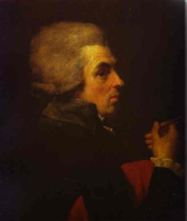 Oil painting:Self-Portrait. c. 1789