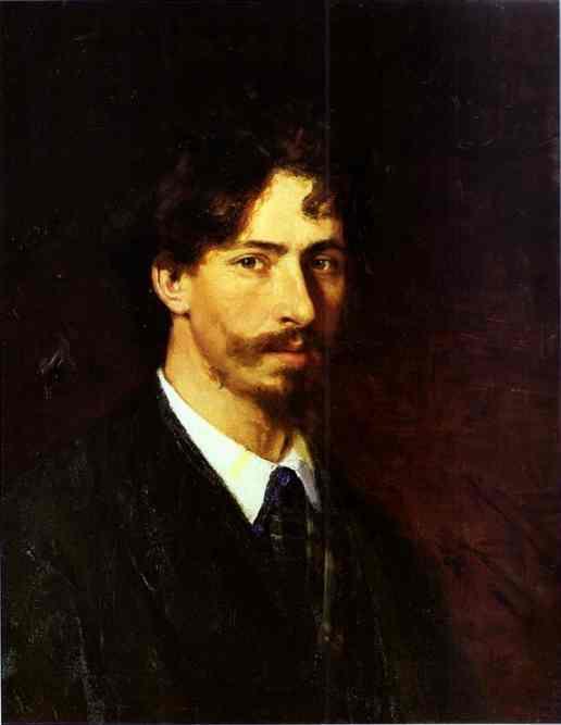 Oil painting:Self-Portrait. 1878