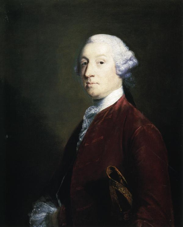 Oil painting:Robert Ramsden. 1755