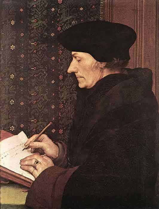 Oil painting for sale:Erasmus, 1523