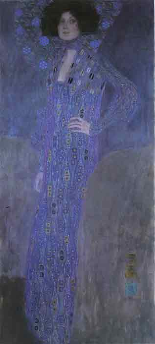Oil painting for sale:Portrait of Emilie Floge, 1902
