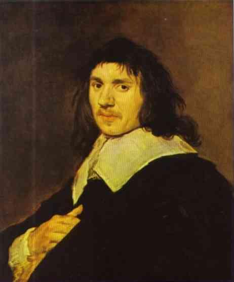 Oil painting:Portrait of a Man. c. 1655