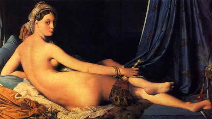 Oil painting for sale:The Grande Odalisque, 1814