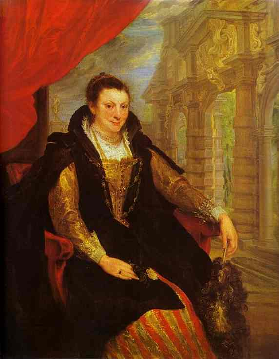 Oil painting:Portrait of Isabella Brant. 1621