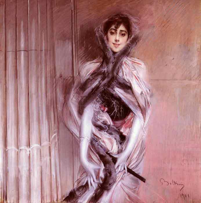 Oil painting for sale:Portrait Of Emiliana Concha De Ossa, 1901